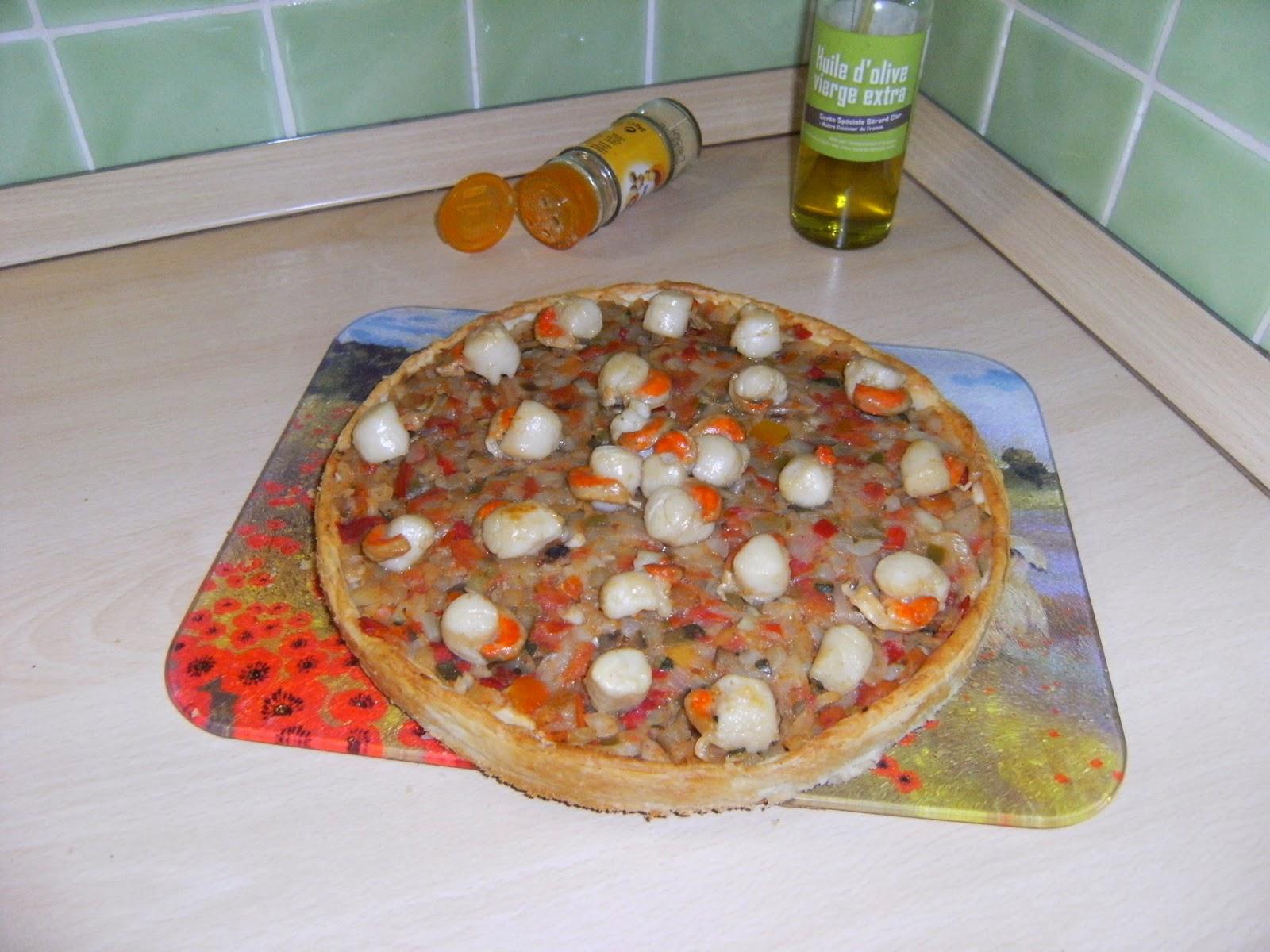 labonnecuisinedenath tarte aux petits legumes et 5 epices noix de st jacques aux gingembre. Black Bedroom Furniture Sets. Home Design Ideas
