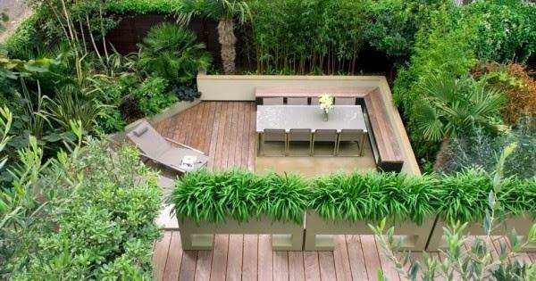 Rumah Unik Dengan Taman Di Atap