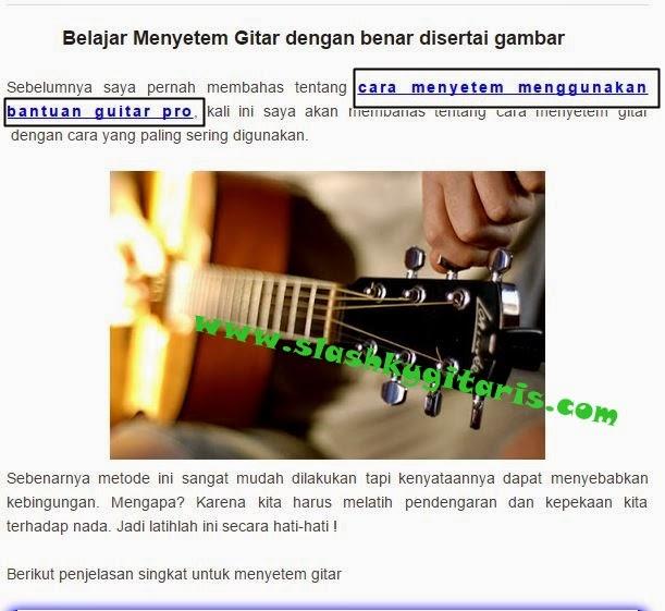 belajar gitar, blogger, ngeblog, rahasia gitar,