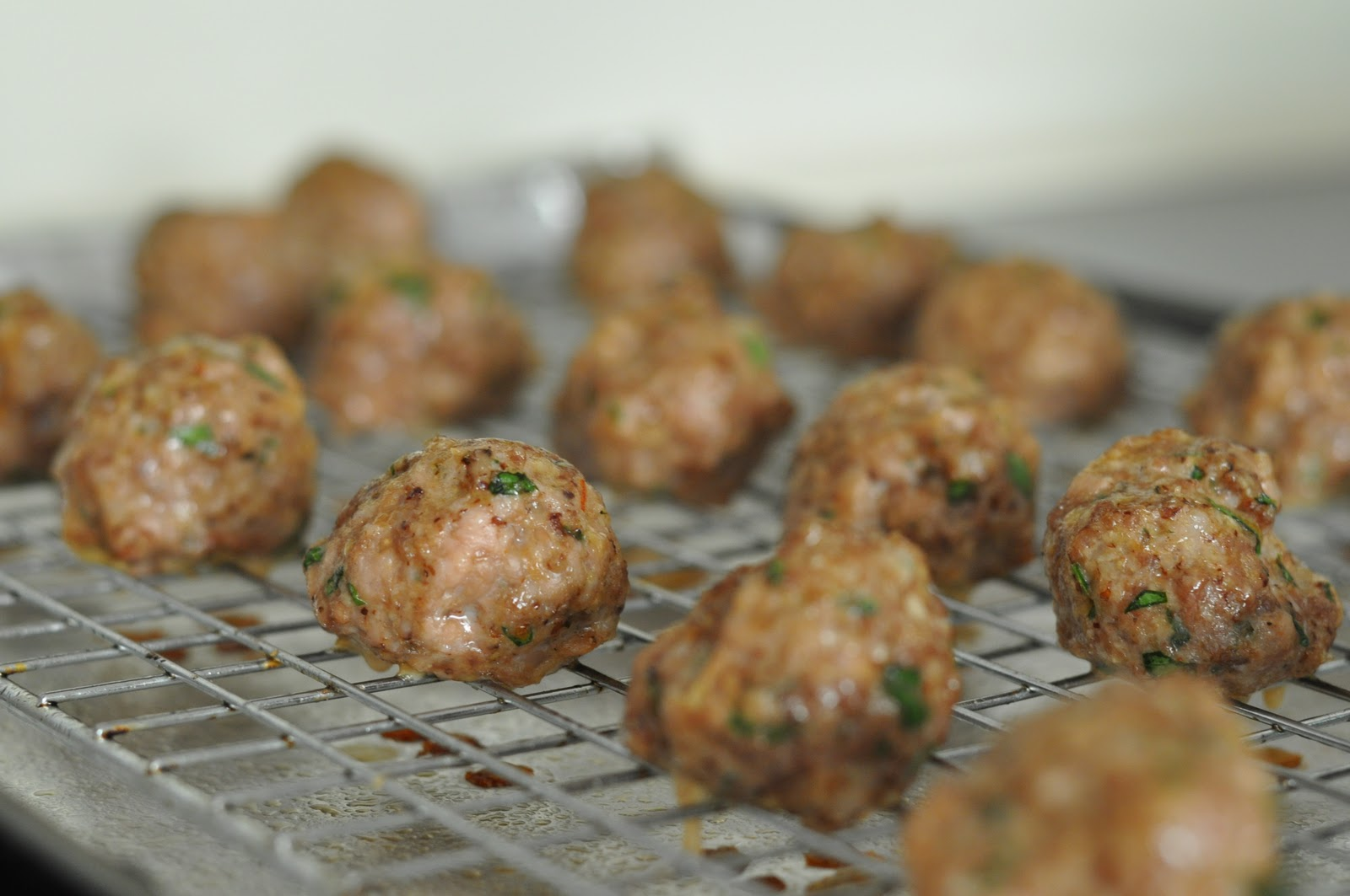 Dandy Dishes: Meatballs and Tomato Sauce