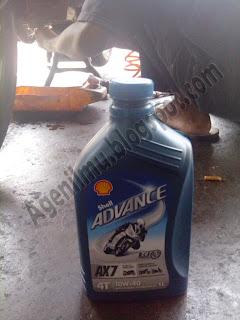Shell Advance AX7 untuk vixion