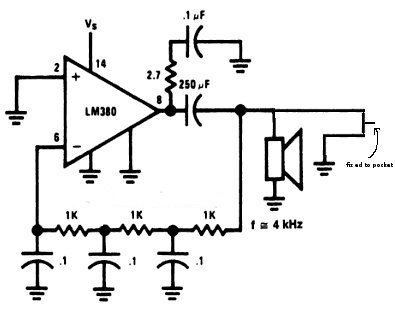 2 Electronic Mosquito Insect Repellent Circuit Using 555 Ic Minor