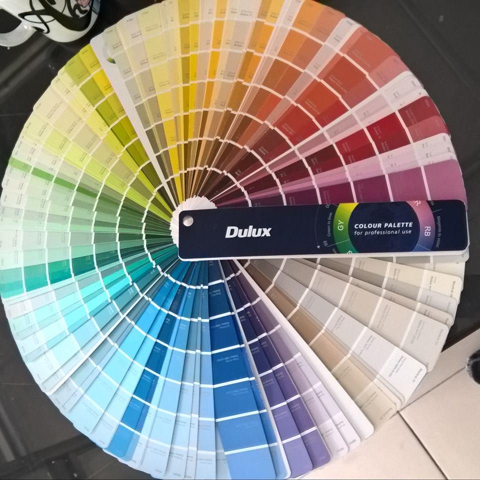 bảng màu sơn dulux