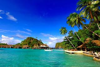 pulau misool resort