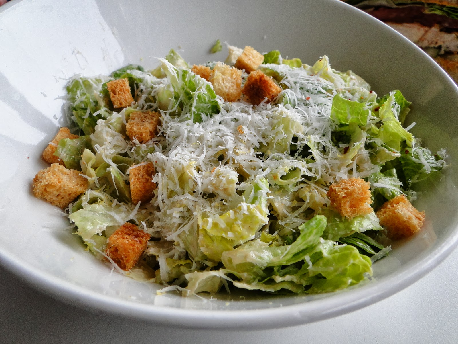 Caesar Salad With Shitake Mushrooms Recipe — Dishmaps
