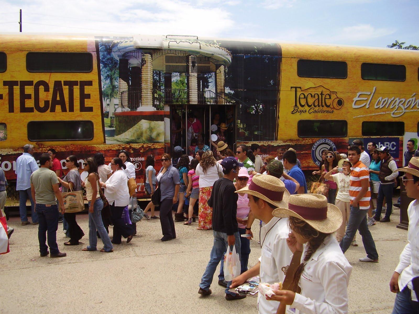 Resultado de imagen para tren turistico tijuana tecate