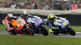 MotoGP Misano 2015 - Rossi Lorenzo Marquez
