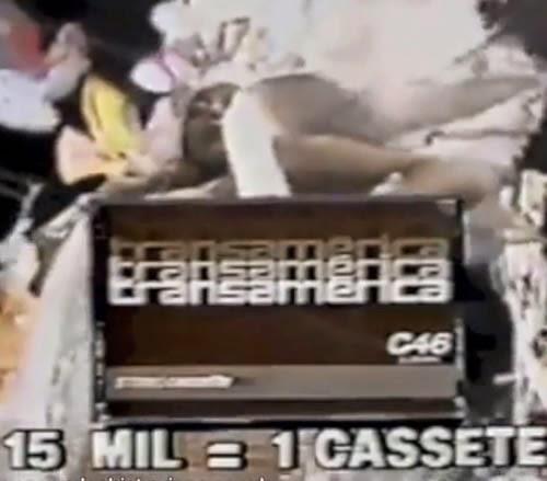 Propaganda do Shopping Recife em 1982: clientes trocavam notas fiscais por uma Fita K-7