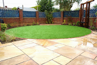 Family garden by expert landscapers