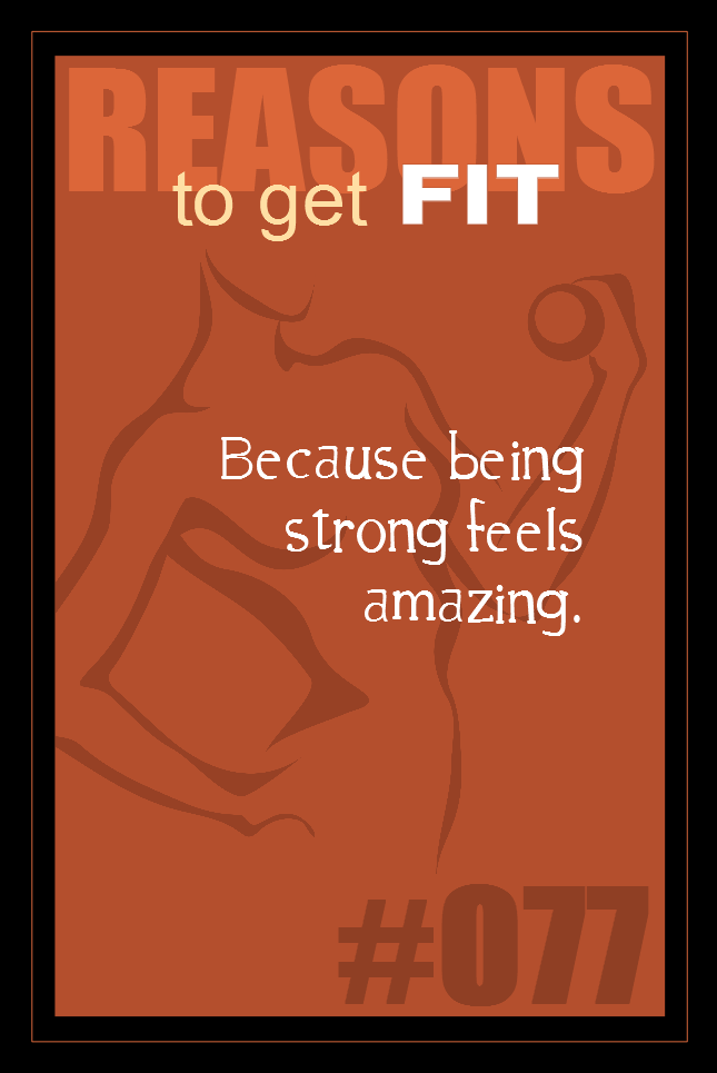 365 Reasons to Get Fit #077