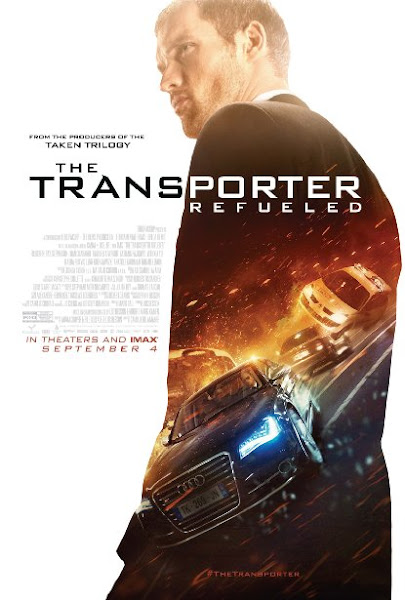 Poster Of The Transporter Refueled 2015 720p BRRip Original Hindi Dubbed