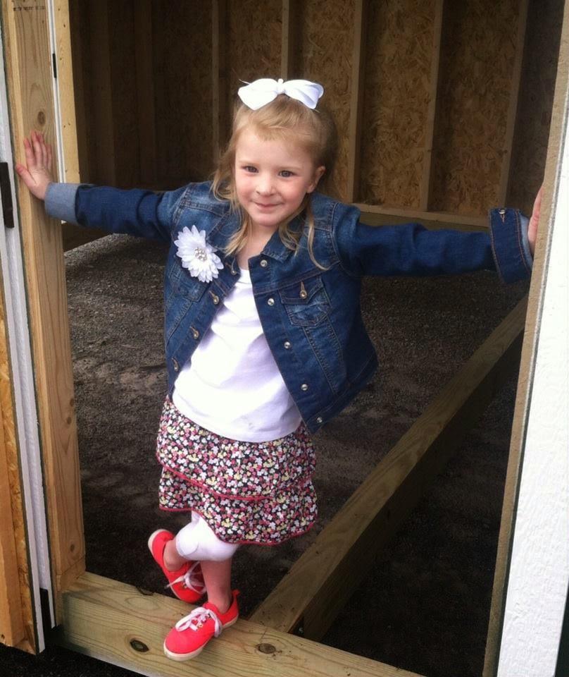 Sadie (age 5)