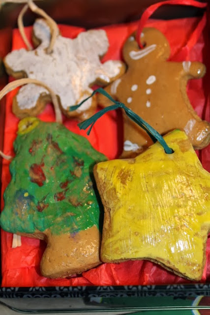 homemade gingerbread ornaments for kids