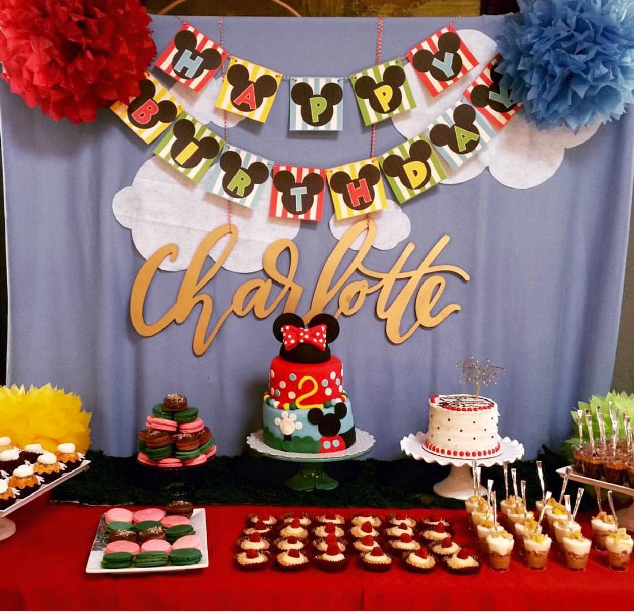 Premier Soirees Event Design Coordination birthdays mickeys