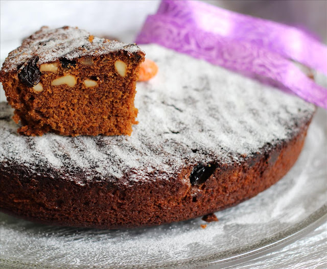Kerala Plum Cake | Christmas Fruit Cake