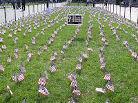 9/11 commemoration College Walk Columbia University, 2011