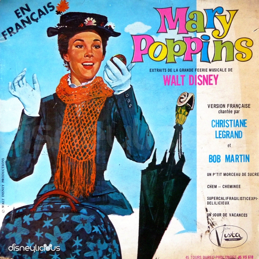 Mary Poppins Could Have Had Her Name and Logo on Her Promotional