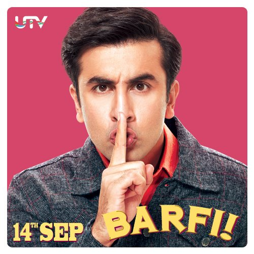 Ranbir Kapoor Barfi! Movie close up still - Barfi! Movie Stills - Ranbir Kapoor Latest