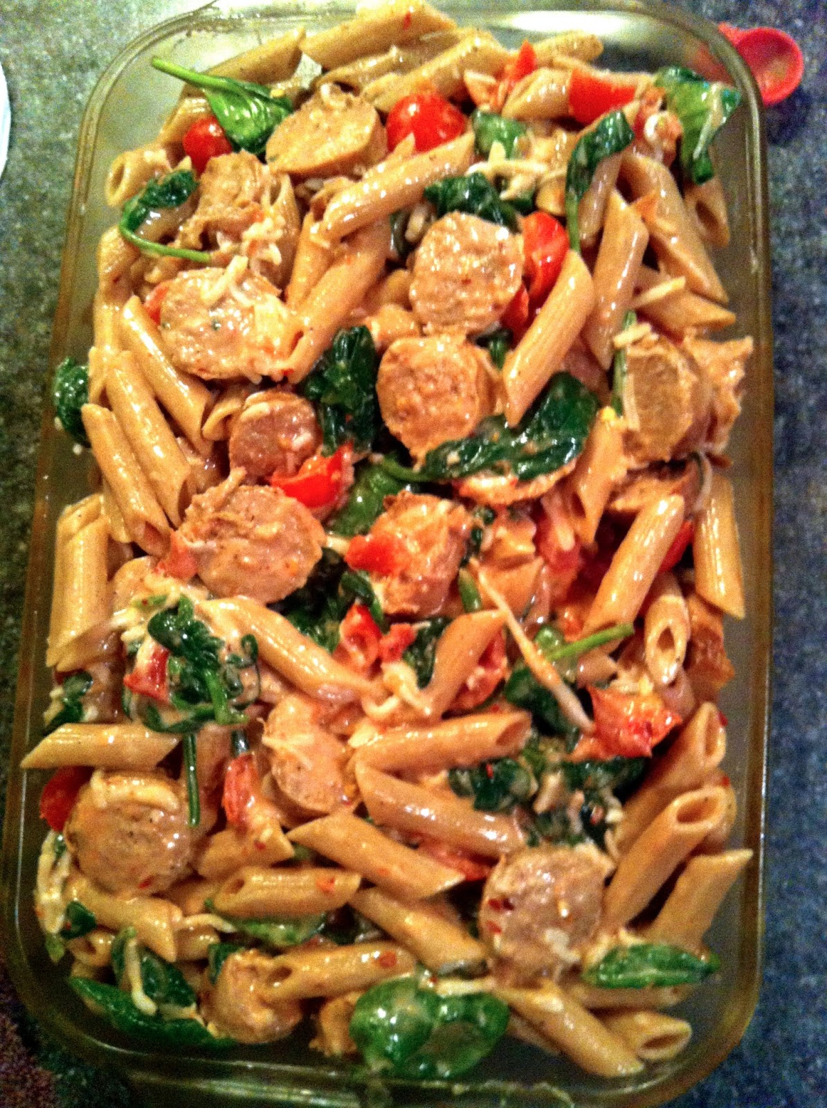 ... sausage sausage and kale pasta bake shell pasta with sausage and