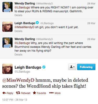 leigh bardugo twitter wendy darling