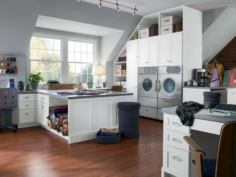 Cupboards kitchen and bath sunday inspiration loving for House plans with large laundry room