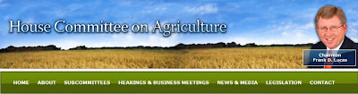 House Committee on Agriculture Logo