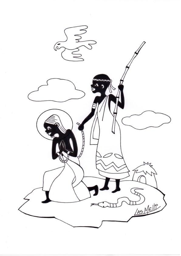 ensinanzaere: ROSARIO AFRICANO. MISTERIOS DOLOROSOS