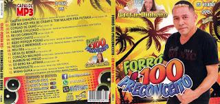 CD Forró 100 Preconceito – Verão 2015