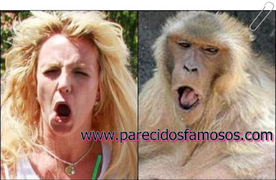 Britney Spears con Granny Baboon