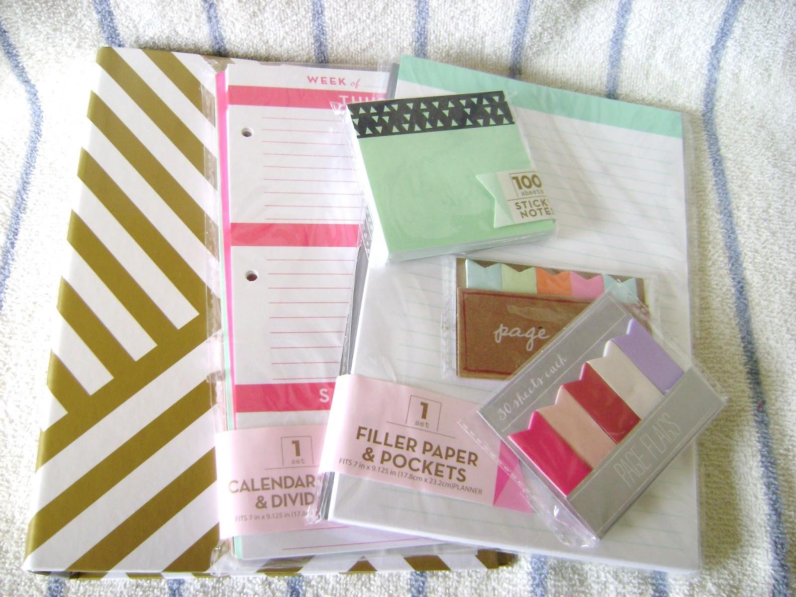 Calendar Planner Target : Its always something . . .: giveaway target dollar spot planner