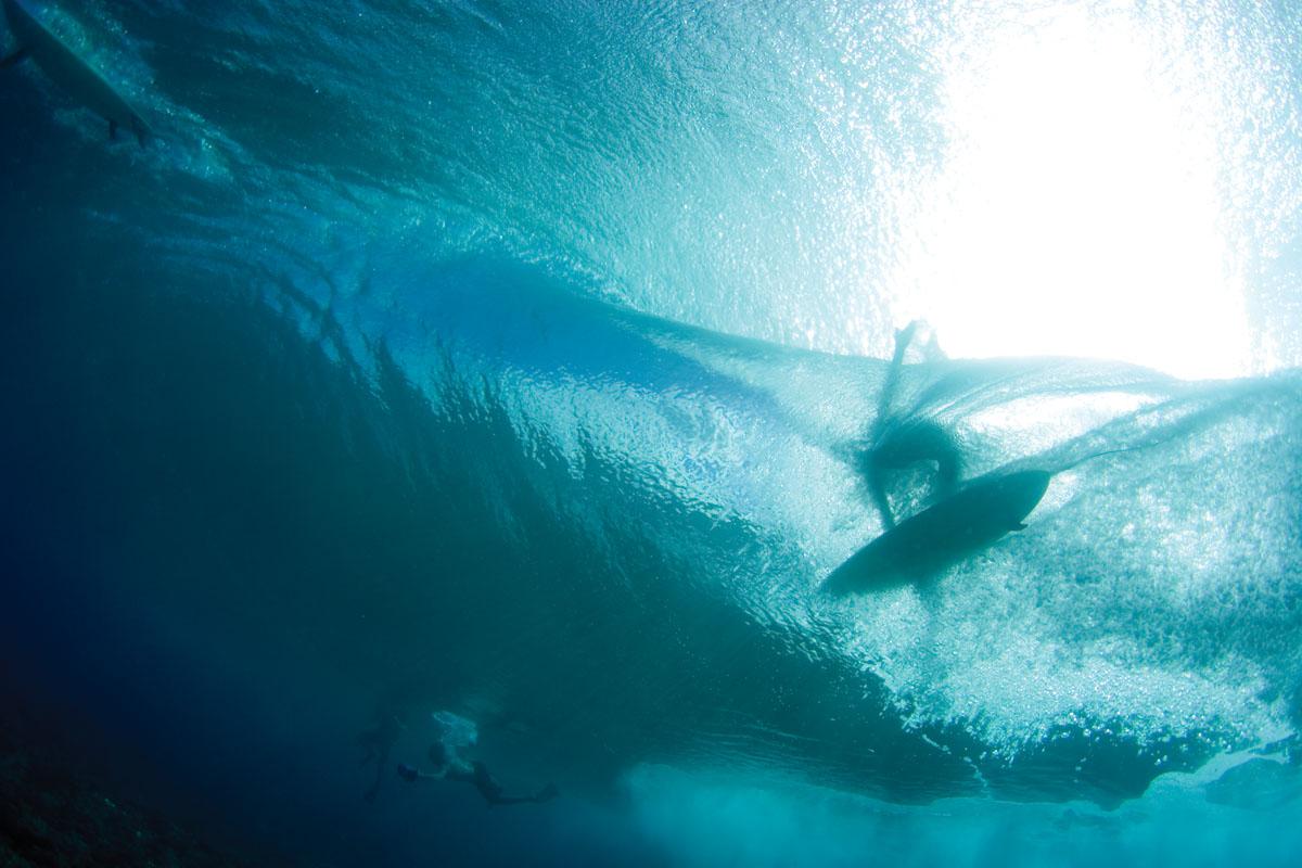 underwater surfer girl desktop - photo #12
