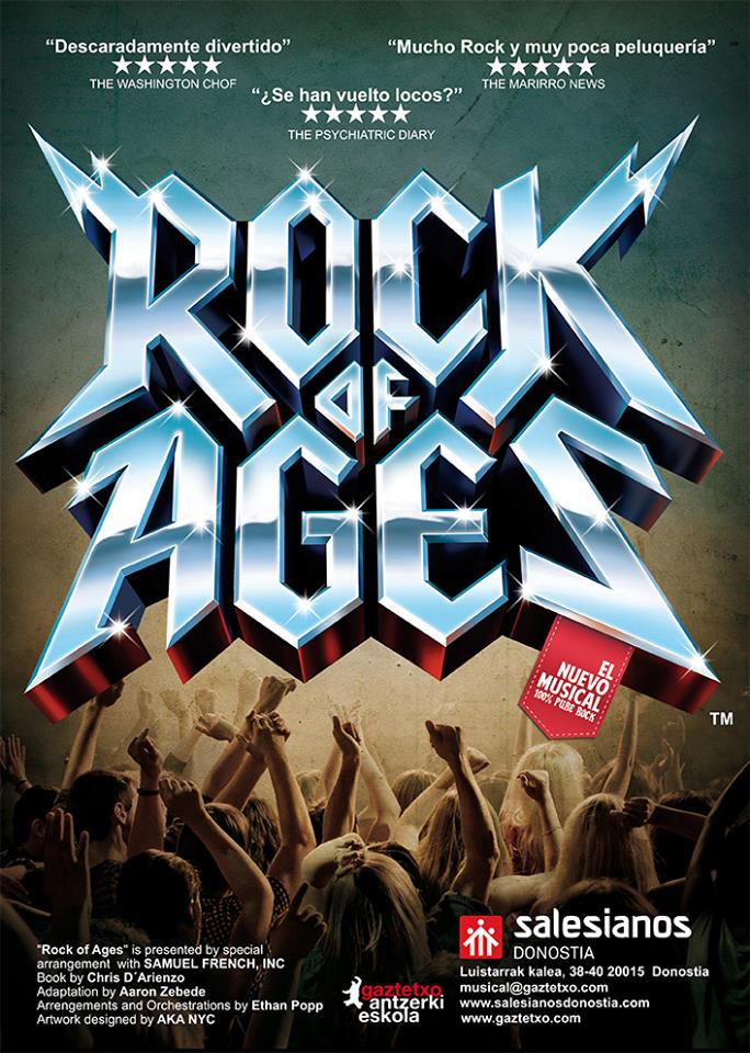 "MUSICAL ""ROCK OF AGES"""