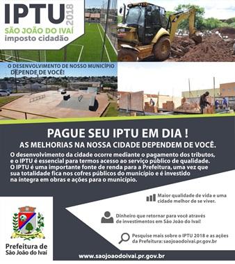 PREFEITURA DE SÃO JOÃO DO IVAÍ