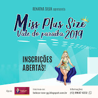 Miss Plus Size vale do Paraíba 2019