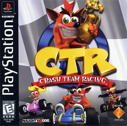 Crash Team Racing Cover(Capa)