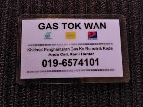 Gas Delivery Sg Nibong (Penang)