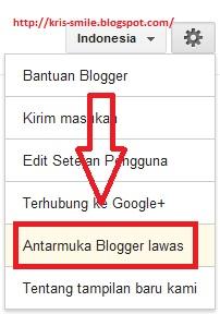 antarmuka blogger lawas.