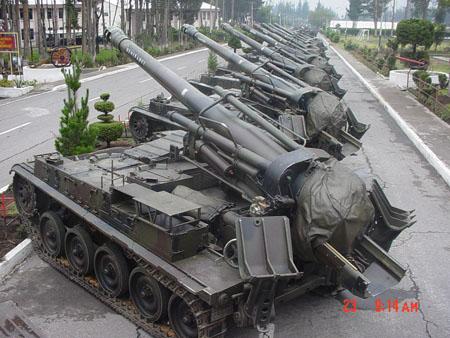 La historia de la artillería autopropulsada en la Argentina
