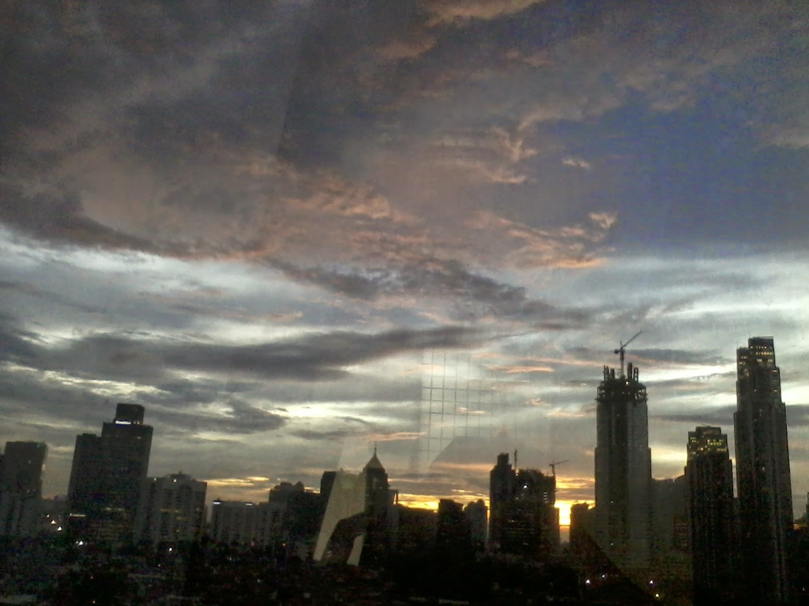 Sunset in My Office, Kuningan, Jakarta