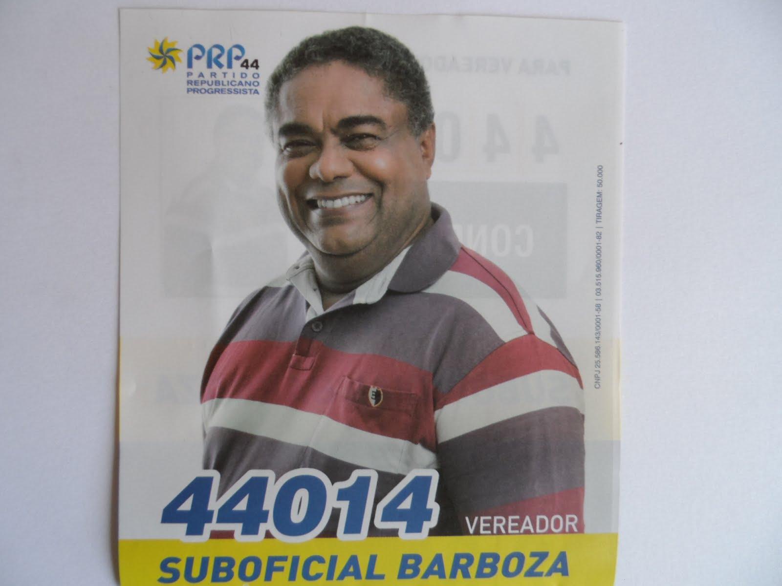 Suboficial Barboza - Vereador - 44014