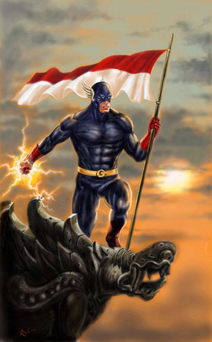 Puluhan superhero terbaik indonesia. beberapa go international