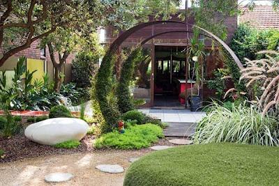 foto jardin pequeño minimalista zen contemporáneo - diseño de jardines