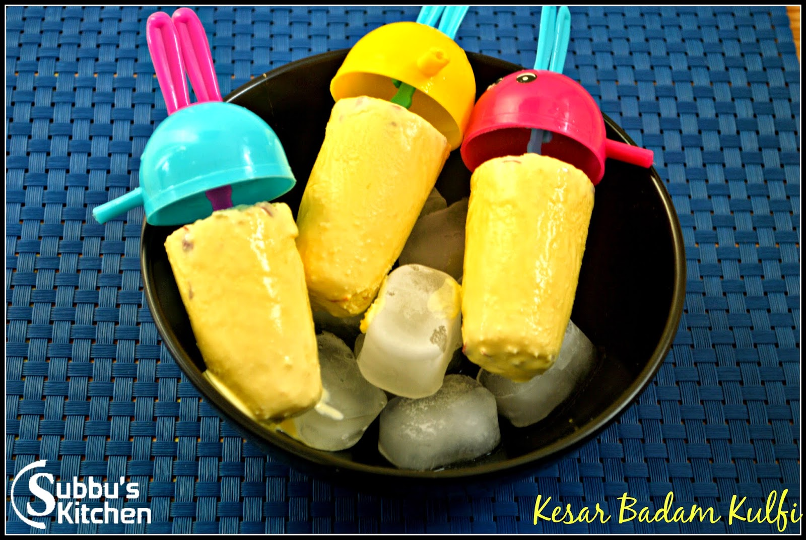 Kesar Badam Kulfi, Homemade Kulfi, How to make Badam Kulfi