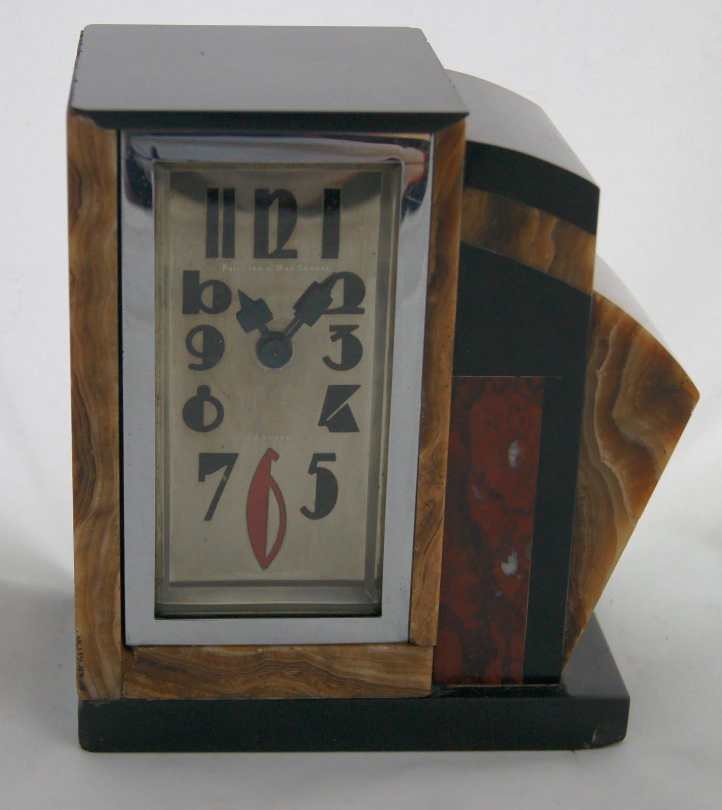 Art deco clocks charles hour diette hour hour lavigne for Deco deco