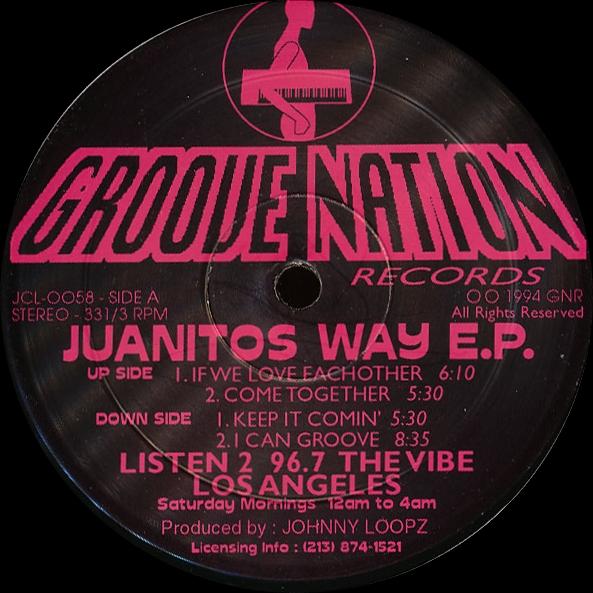 Johnny Loopz - Juanitos Way E.P. Part III