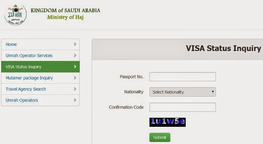 Check visa status to brazil