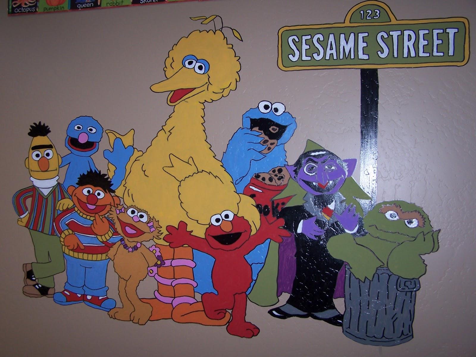 Eliu0027s Sesame Street Birthday Party Part 56