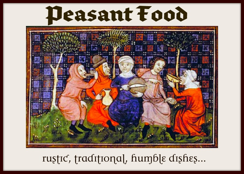 I heart cooking clubs peasant food for Art culture and cuisine ancient and medieval gastronomy