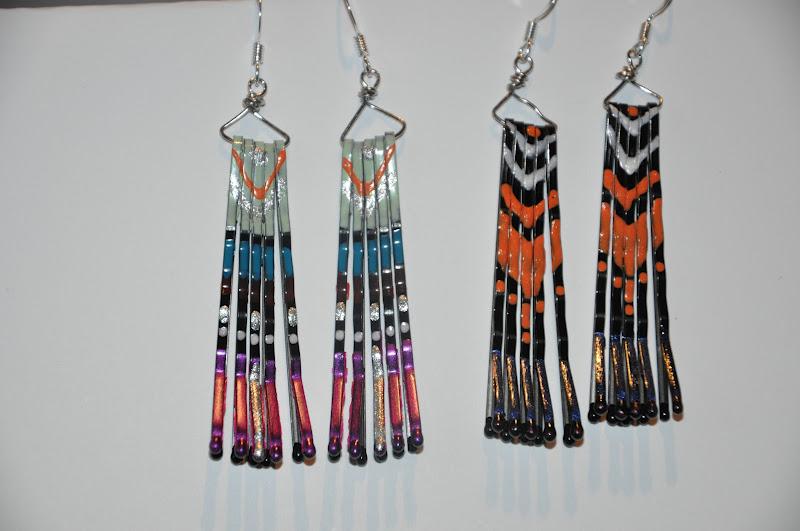hillbilly jillies bobby pin earrings