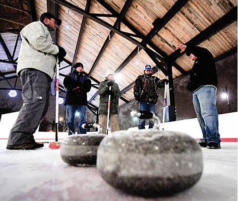 Curling Lessons @ Huron Street Pavilion